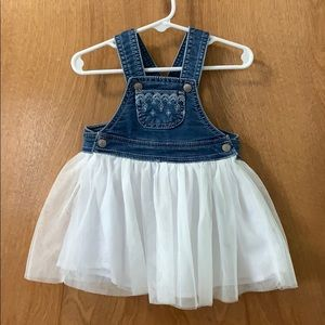 Overall Dress Size 12 Months